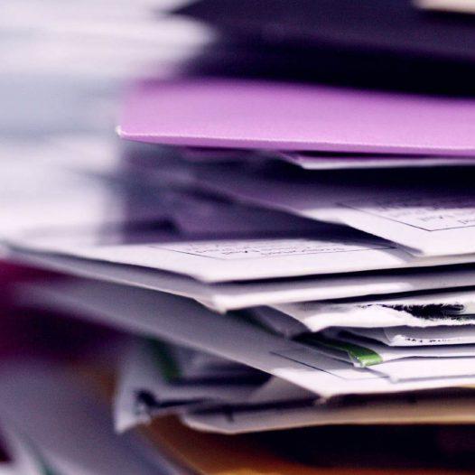 stacked envelopes