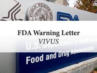 FDA Warning Letter: Vivus