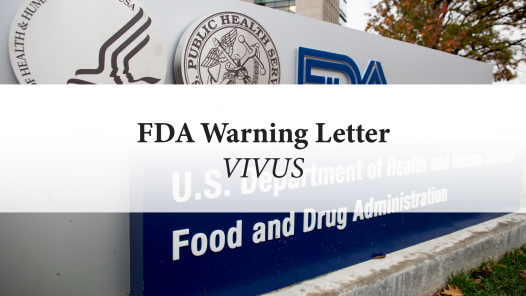 FDA Warning Letter: Vivus