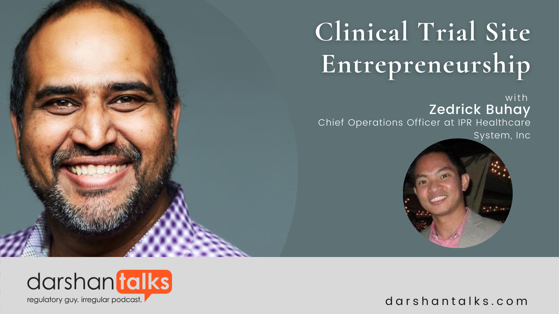 Clinical Trials Site Entrepreneurship